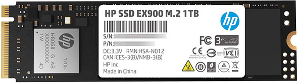HP SSD M2 2280 PCIe NVMe 1TB, HP EX900   5XM46AA ABB