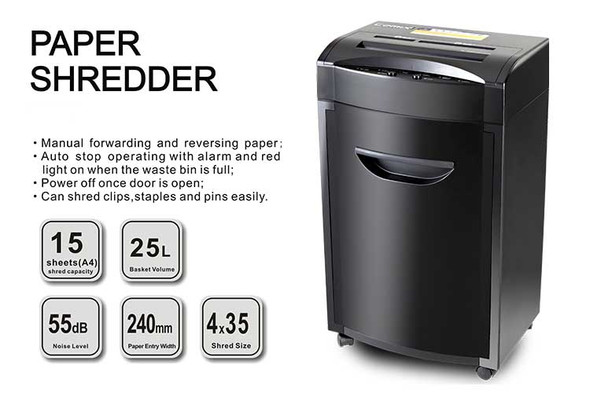 ONYX OX8700 Paper Shredder