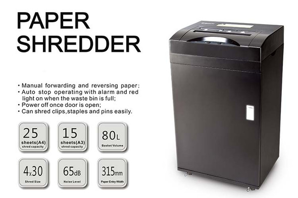 ONYX OX8800 Paper Shredder