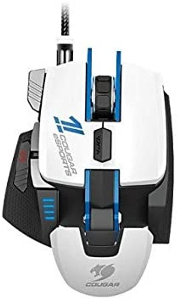 Cougar 700M Esports USB Laser Gaming Mouse with 8200 DPI, White | 700M