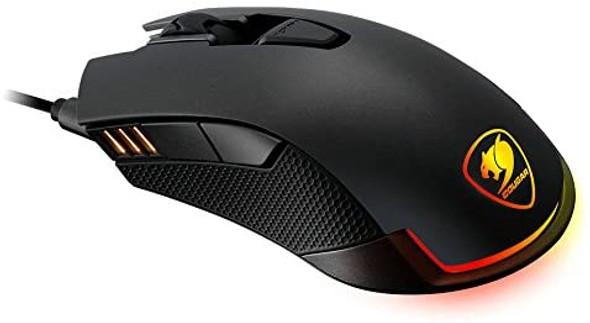 Cougar Revenger Wired USB Optical Gaming Mouse with 12,000 DPI, Black | REVENGER