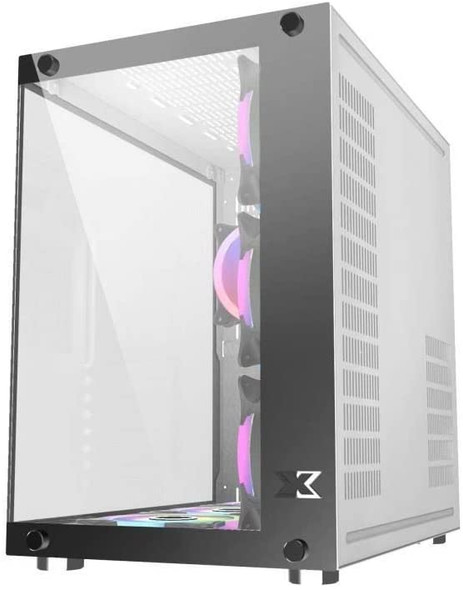 Xigmatek Boitier PC ATX Xigmatek Aquarius Plus White | EN43675