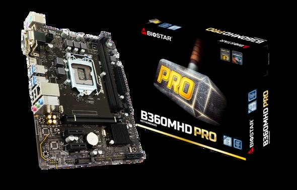 Biostar Motherboard | B360MHD