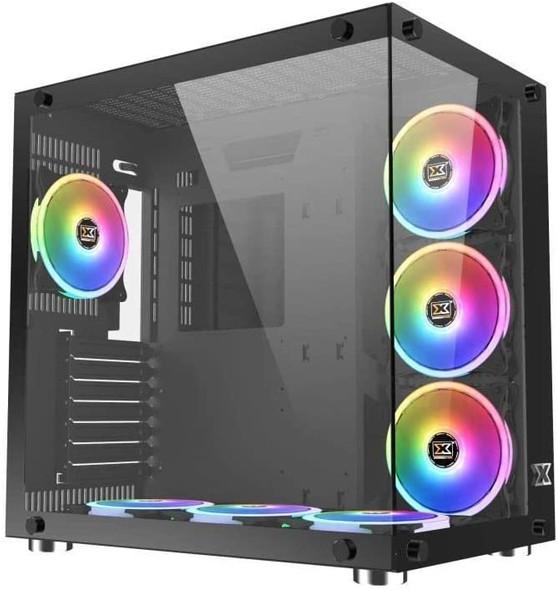Xigmatek Aquarius Plus Mid Tower Case - Black USB 3.0   EN43354