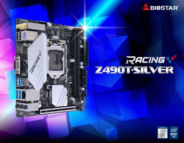 Biostar Motherboard | Z490T-Silver
