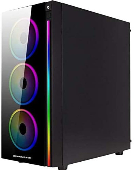Boitier PC ATX Xigmatek Poseidon, RGB   EN42272