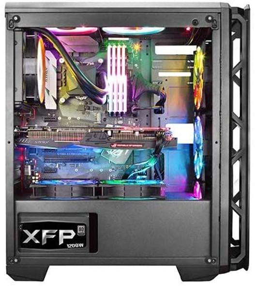 Xigmatek Astro RGB Centre Tower Case - Red/Grey | EN41244