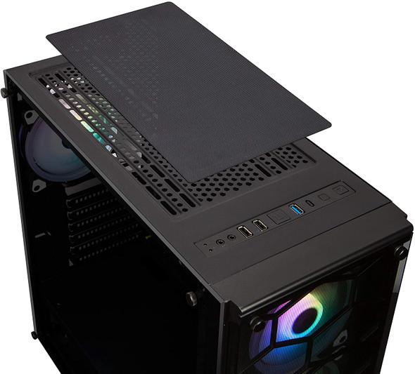 Xigmatek Venom X RGB En41756 Housing with Glass Panels (Black)   EN41756