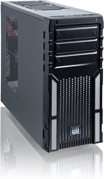 Xigmatek mid-atx Tower Case Asgard 381, Blanco   EN40858