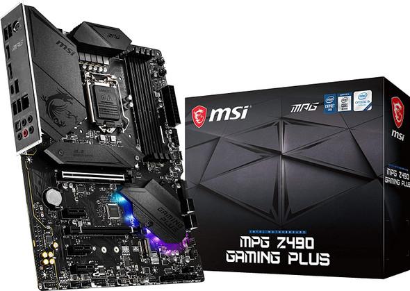 MSI MPG Z490 GAMING PLUS Motherboard | 911-7C75-015
