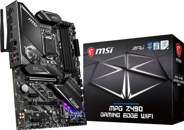 MSI MPG Z490 GAMING EDGE WIFI Motherboard   911-7C79-006