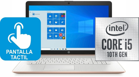 P 17-BY3006 Core™ i5 1035G1 1.0GHz 256GB SSD 8GB 17.3″ (1600×900) TOUCHSCREEN BT WIN10 Webcam PALE ROSE GOLD | 1A1M5UAR#ABA
