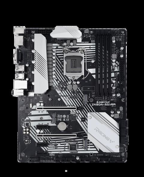 Biostar Z490A-Silver Motherboard | Z490A-Silver