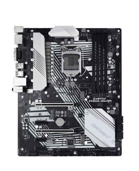 Biostar Z490A-Silver Motherboard   Z490A-Silver