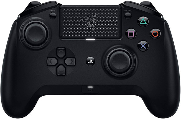 Razer Raiju Tournament Edition Wireless and Wired Gaming Controller with Mecha Tactile Action Buttons, Interchangeable Parts and Quick Control Panel, Black | RZ06-02610100-R3G1