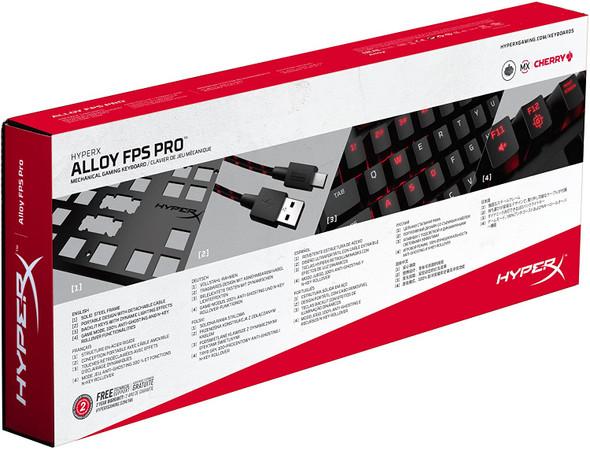 HYPERX Keyboard, Alloy FPS Pro-M MX RED , BLUE | HX-KB4RD1-US/R2