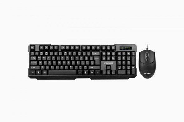 PROLINK KEYBOARD + MOUSE USB BLACK | PCCS1003