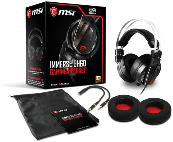MSI IMMERSE GH60 GAMING HEADSET | GH60
