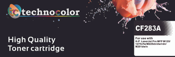 TechnoColor 83A Black HP Compatible LaserJet Toner Cartridge (CF283A)