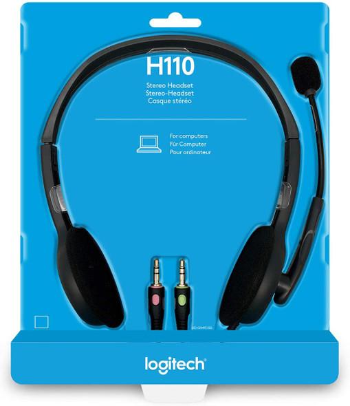 LOGITECH H110 HEADSET | H110