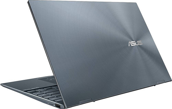 "ASUS - ZenBook Flip 2-in-1 13.3"" Touch-Screen Laptop - Intel Core i7 - 16GB Memory - 512GB SSD - Pine Gray 