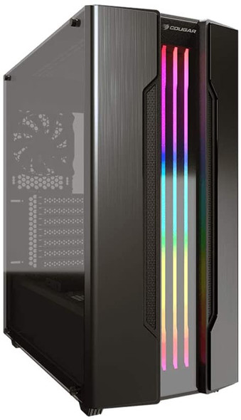 GEMINI S Mid Tower Gaming Case with a Full-Size Tempered Glass Cover and Integrated RGB Lighting System | GEMINIS