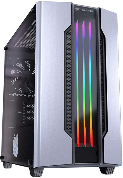 Cougar Gemini M Mini Tower Gaming Case with Addressable RGB and Dynamic Lighting Effects | GEMINIM