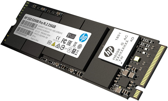 HP EX900 PRO  PCIe Gen 3 x 4 SSD EX900 pro - DRAM cache  NVME 256GB SSD | 9XL75
