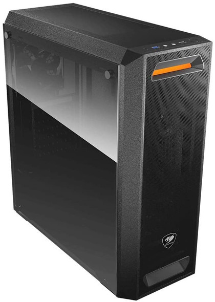 COUGAR CASE MX350 MESH Gaming Case: Mid-Tower Tempered Glass Side Panel | MX350