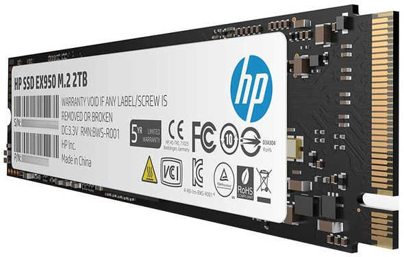 PCIe Gen 3 x 4 SSD EX950 - DRAM cache  2TB | 5MS24