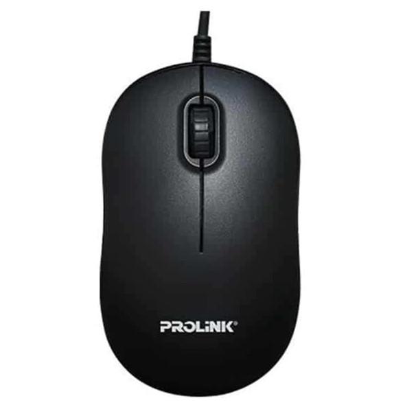 PROLINK OPTICAL MOUSE BLACK USB | PMC1006