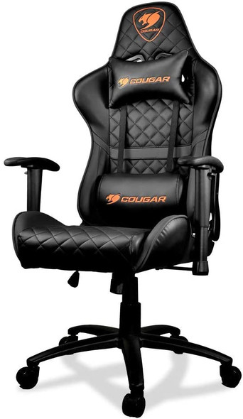 COUGAR CHAIR ARMOR ONE BLACK | ARMOR ONE