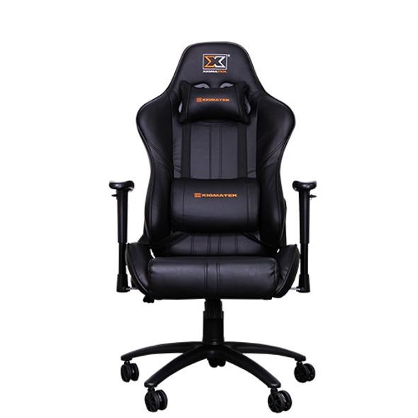 XIGMATEK Chicane chair Matt Black, 2D Armrests, Butterfly Mechanism, Class 4 Gas | CHICANE
