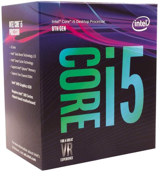 INTEL CORE I5-8400 PROCESSOR 9M CACHE UP TO 4.00GHZ LGA14C   I5-8400
