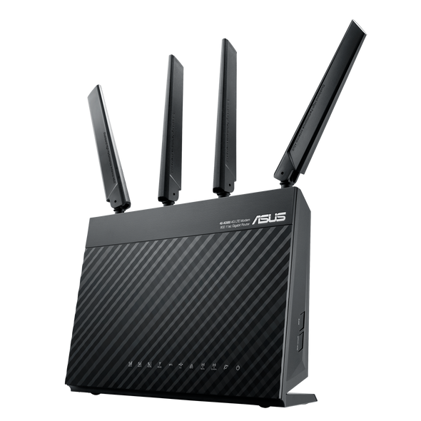 ASUS 4G-AC68U AC1900 Dual Band LTE WiFi Modem Router | 90IG03R1-BU9000
