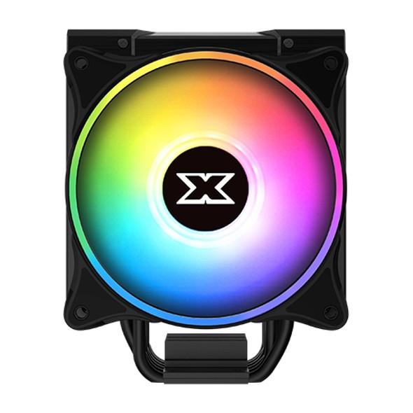 XIGMATEK Windpower Pro (Black Anodize Finish,Twin AT120 ARGB Fan&ARGB LED Top Cover,Reinforced Metal Backplate) | EN44276