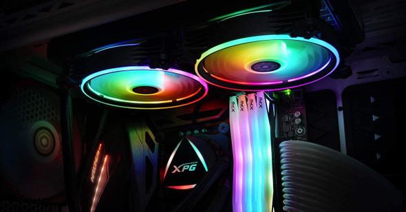 XPG LEVANTE 240 ADDRESSABLE RGB CPU COOLER 240MM | LEVANTE240