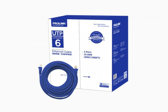 PROLINK CAT6 CABLE FULL COPPER | C6CFC
