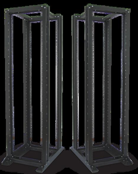 Eussonet Open Rack Cabinet 27U W600*D1000 | MS-WO6027AB