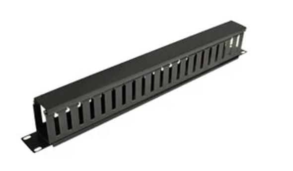 Eussonet 1U Plastic Cable Management W/Cover | MS-CM006