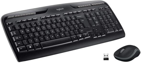 Logitech RF Wireless Keyboard and Mouse Combo | MK330