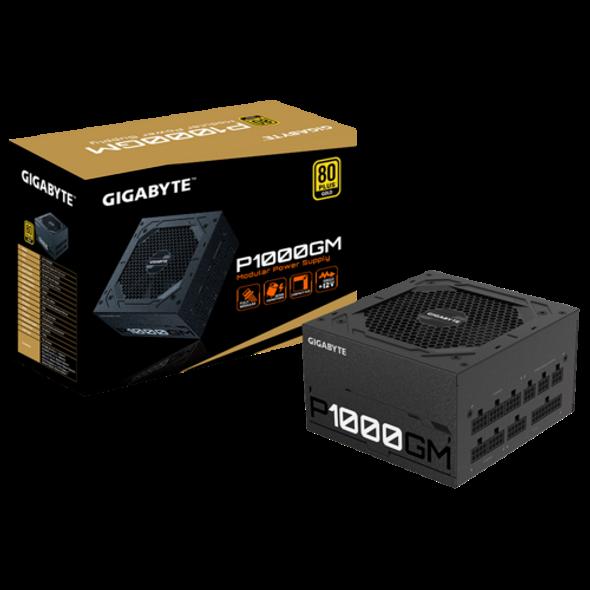 Gigabyte Power Supply 1000W 80 Plus Gold Certified   GP-P1000GM