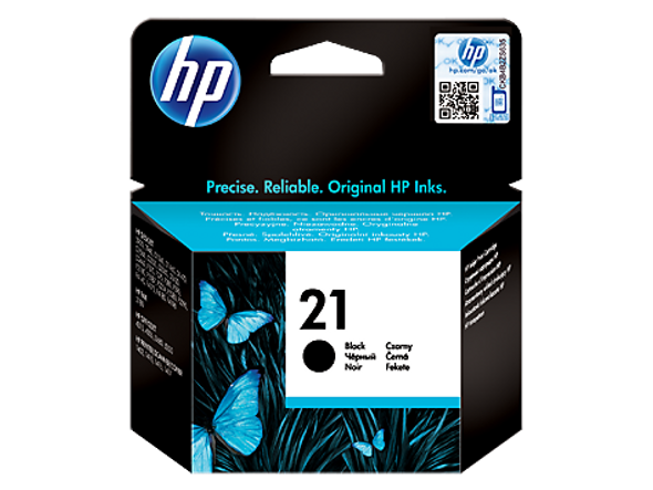 HP 21 Black Original Ink Cartridge (C9351AE)