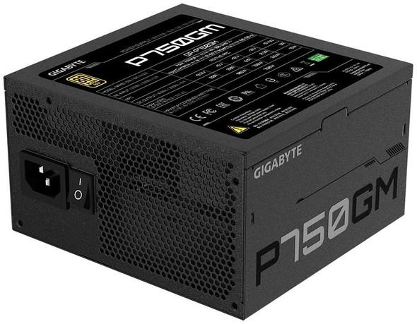 Gigabyte Power Supply 750W 80 Plus Gold Certified   GP-P750GM