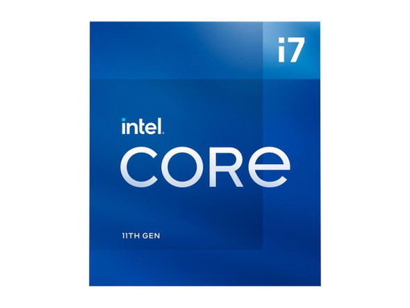Intel Core i7-11700 Rocket Lake 8-Core 2.5 GHz LGA 1200 65W BX8070811700 Desktop Processor Intel UHD Graphics 750 (INTCPU33)