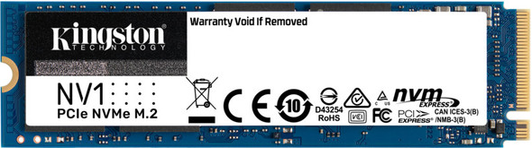 Kingston NV1 M.2 2280 1TB PCI-Express 3.0 x4 NVMe Internal Solid State Drive (SSD) SNVS/1000G (kGNV1000)