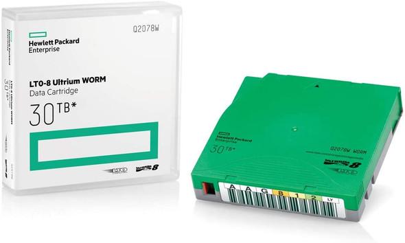 HPE LTO-8 Ultrium 30TB RW Data Cartridge | Q2078A