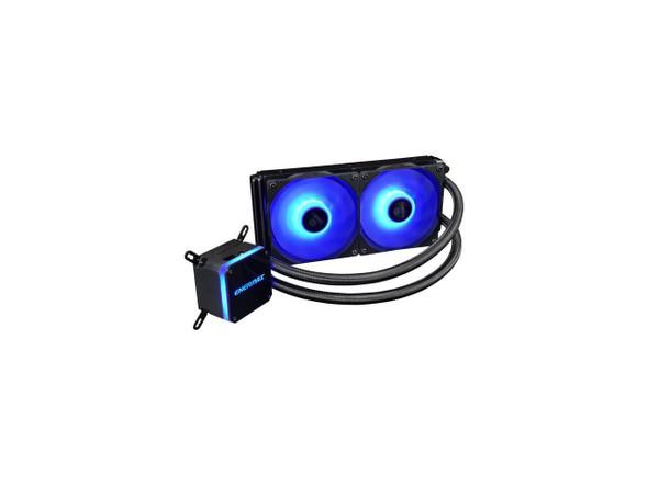 Enermax LIQMAX III RGB 240, All-in-one CPU Liquid Cooler for AM4 / LGA1200, 240mm Radiator, Dual-Chamber Water Block, RGB Fan   9SIA6ZPBY97131