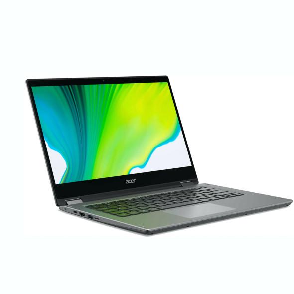 "Acer Spin 3 SP314-21-R56W 2-IN-1 AMD Ryzen™ 3 3250U 2.6GHz 128GB SSD 4GB 14"" (1366x768) TOUCHSCREEN BT WIN10 Webcam PURE SILVER | NX.A4FAA.001"