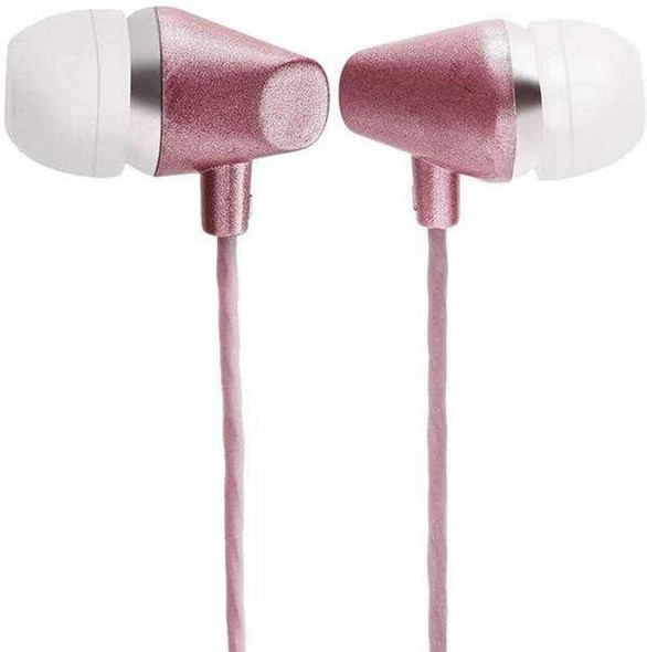 Earphone For iPhone-Cable length: 1.2M-Plug: 3.5MM-Available in White-Pink-Blue | PJT-DEP239